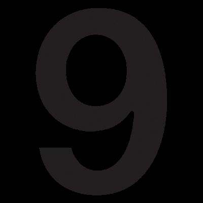 Nowoczesny numer na dom 9...