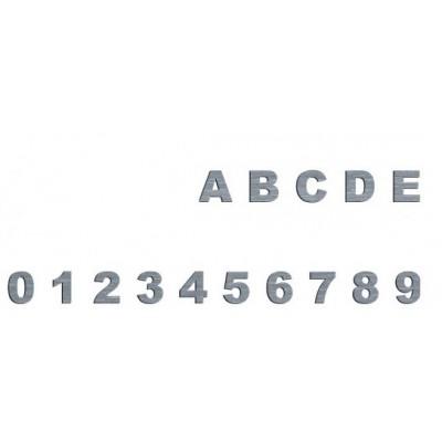 4 cm Cyfry i litery...