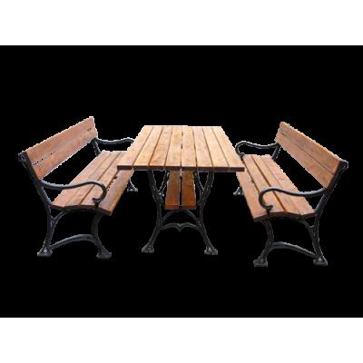 Stół ogrodowy i 2 ławki...