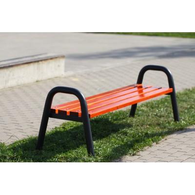 Mocna ławka parkowa lub na...