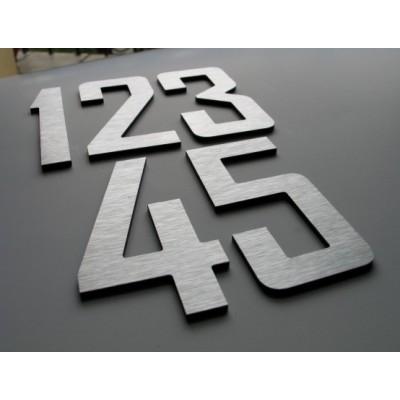 nierdzewne numery na dom