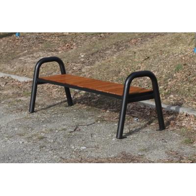 Ławka bez oparcia do parku,...