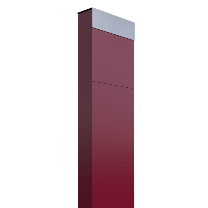 stojąca skrzynka na listy czerwona