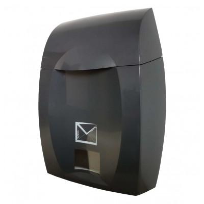 grafitowa skrzynka pocztowa