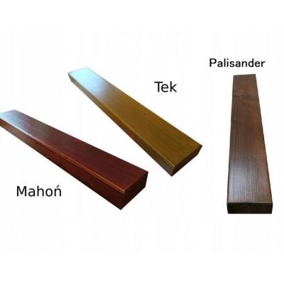 Kolory desek ławki miejsko/parkowej - Gladiator