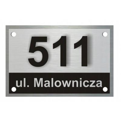 Tabliczka z nazwą ulicy i...