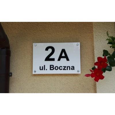 Nowoczesna tabliczka z...