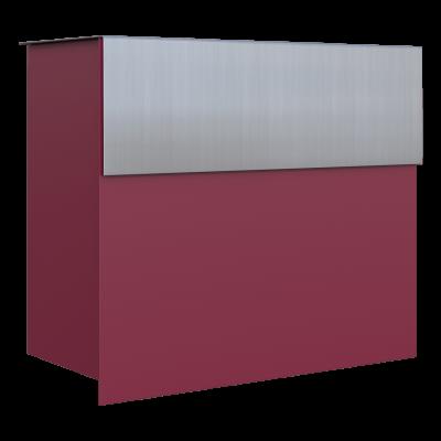 Stojąca skrzynka na listy BRAVIOS ze szczotkowanej stali