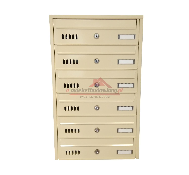 Zbiorcza skrzynka pocztowa na listy