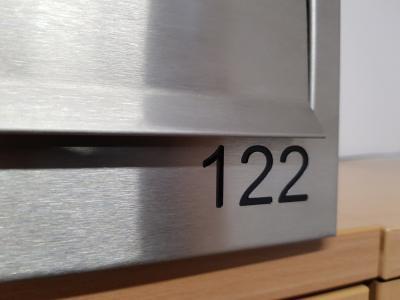 numeracja skrzynek na listy