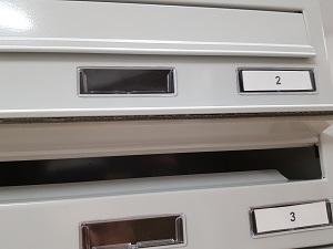 klapka skrzynki pocztowej lokatorskiej